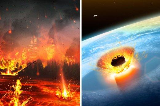 o que aconteceria se um grande asteroide atingisse um oceano da Terra