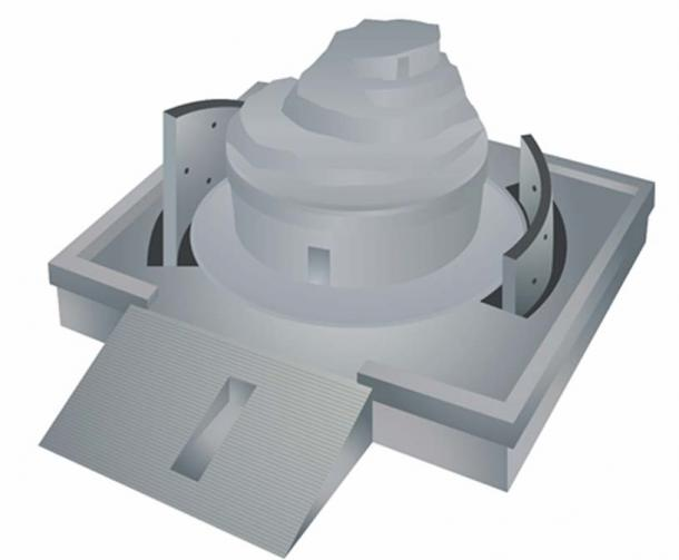 Engenharia avançada é encontrada em observatório maia 4