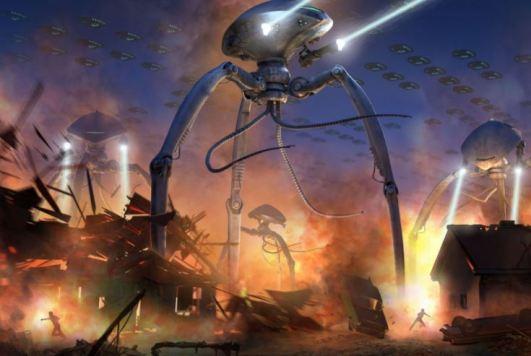 invasão extraterrestre