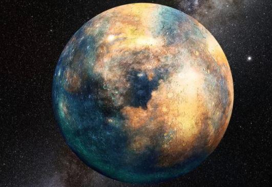 planeta do tamanho da Terra