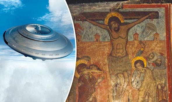 alienígenas estavam na Crucificação de Jesus