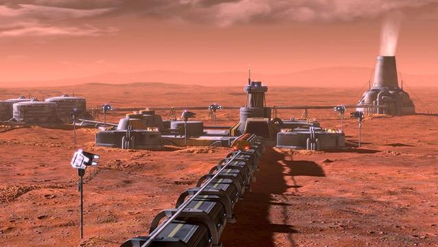 trabalho escravo em Marte