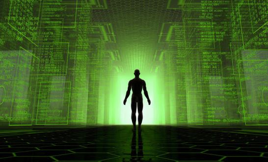 tirar a raça humana da Matrix