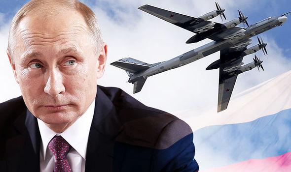 Putin envia bombardeiros nucleares