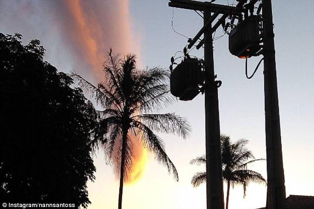 """""""Nuvem apocalíptica"""" que apareceu no Brasil é comentada internacionalmente 1"""
