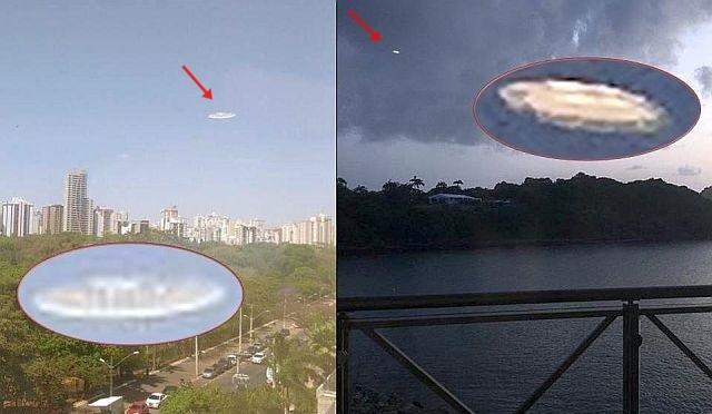 OVNIs similares são fotografados