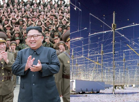 Coreia do Norte Haarp