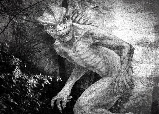 O povo lagarto do subterrâneo de Los Angeles 1