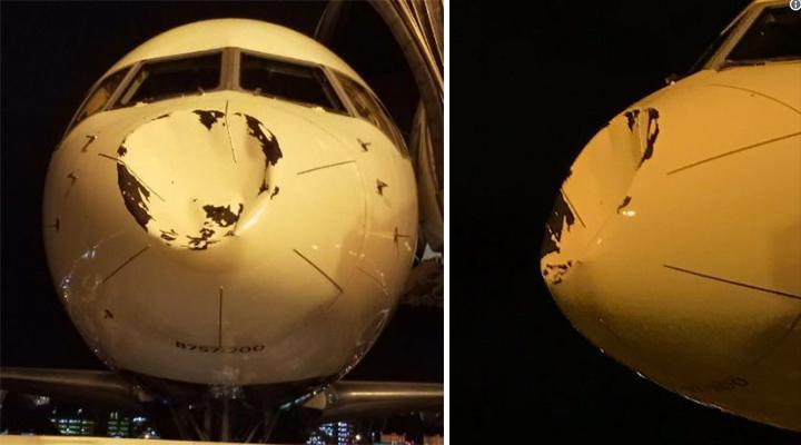 OVNI colide com avião de time de basquete nos EUA 1