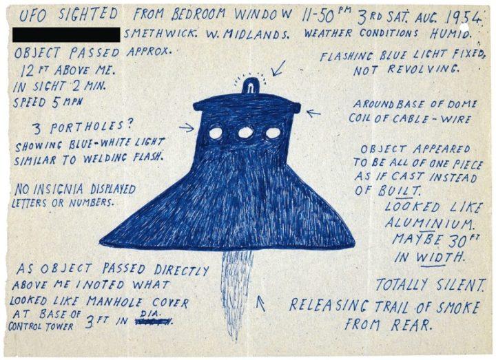 Desenhos de OVNIs são liberados pelo Ministério da Defesa do Reino Unido 5