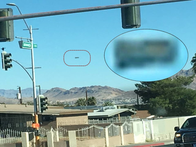 OVNI é fotografado em Las Vegas