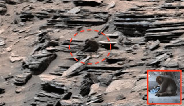 Seriam estas ruínas de degraus em Marte? 1