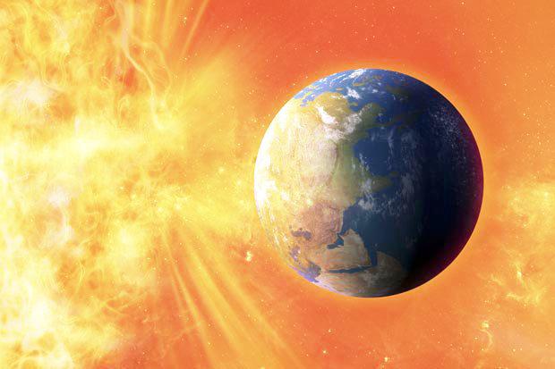 gigantesca tempestade solar