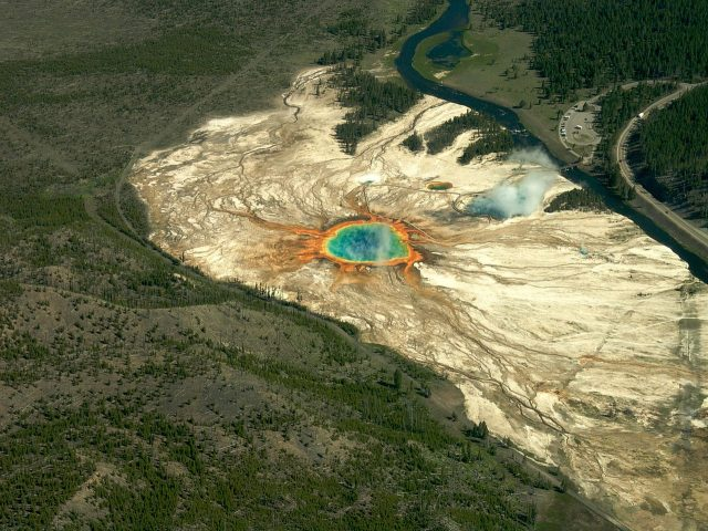 Dizem agora que Kim Jong-un que enviar um míssil nuclear ao Parque Yellowstone e acabar com os EUA 1