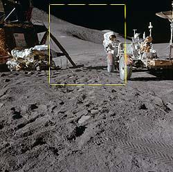 Análise de fotos da Lua colocam dúvida sobre pouso lunar 2
