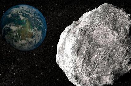 Enorme asteroide está vindo em direção à Terra