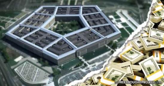 trilhões podem ter ido para o Programa Espacial Secreto