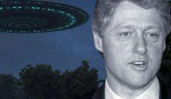 Bill Clinton pode ter descoberto a verdade sobre os OVNIs
