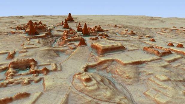cidade maia é descoberta
