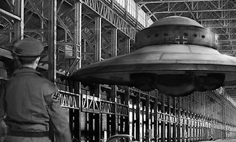 os nazistas realmente construíram OVNIs
