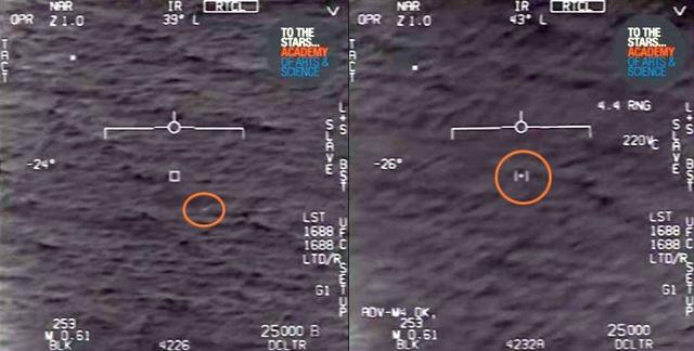 Pentágono acaba de liberar o terceiro vídeo de OVNI