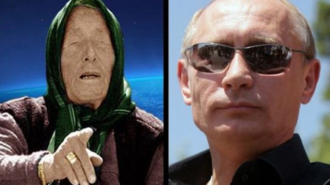 Vidente teria dito que Putin governará o mundo