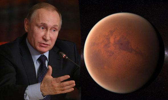 Rússia irá lançar missão para Marte em 2019