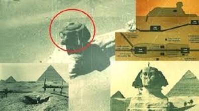 Pode existir uma câmara alienígena embaixo da Grande Esfinge 1
