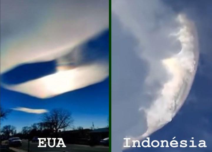 Fenômenos anômalos continuam ocorrendo no céu ao redor do mundo