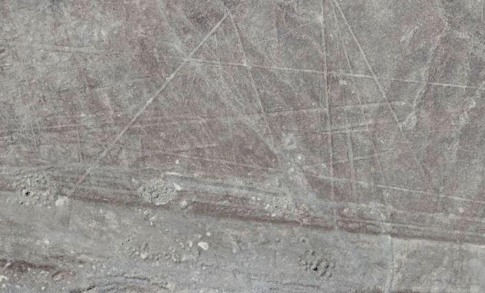 desenhos enormes são encontrados em deserto do Peru