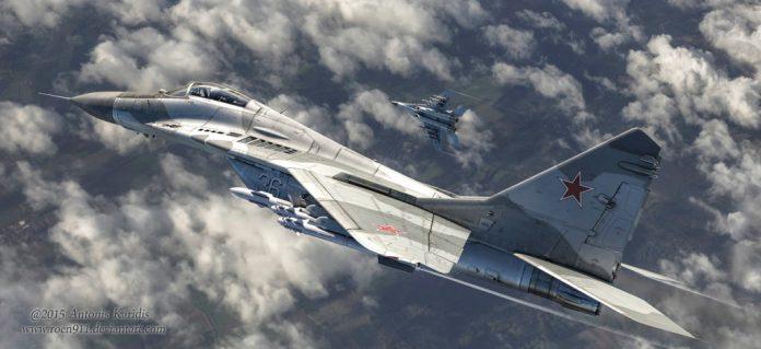 Mig-29 persegue OVNI por 18 minutos