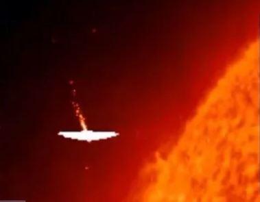 Há algo estranho ocorrendo ao redor do Sol