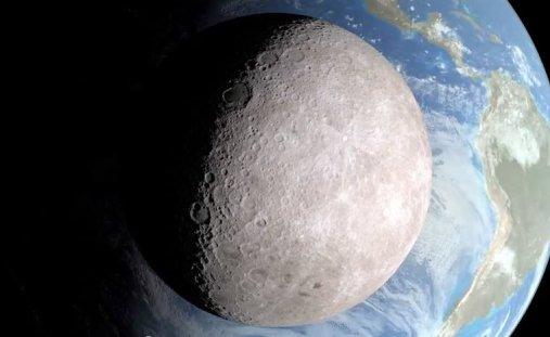 se a Lua chegasse perto da Terra