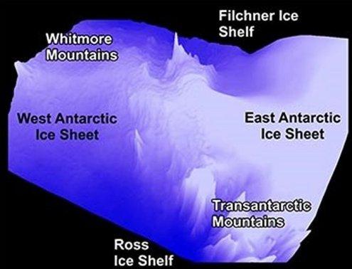 descobrem mundo oculto sob o gelo da Antártica