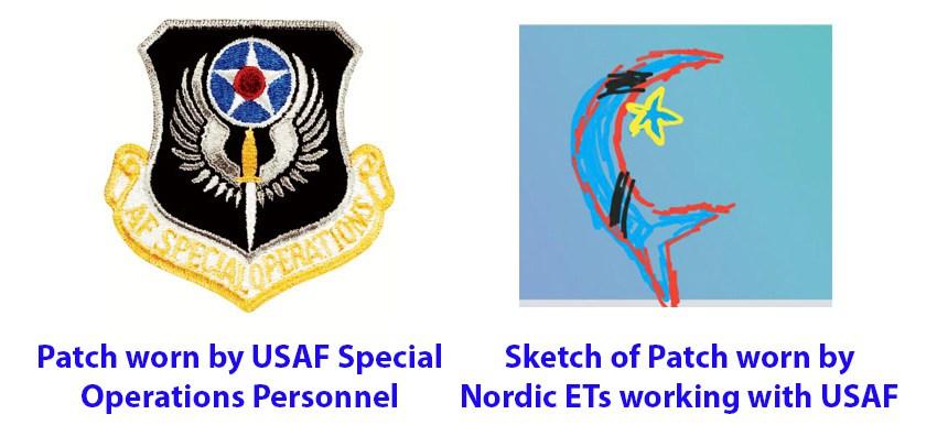 Alienígena em uniforme da USAF contata informante 2