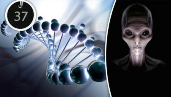 Código genético humano foi criado por alienígenas