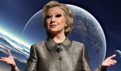 Hillary Clinton perdeu por culpa dos ETs