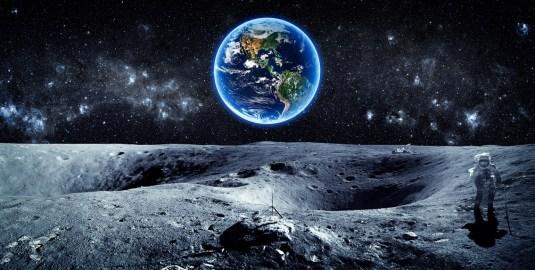 A Lua pode ter tido vida, descobrem astrobiólogos