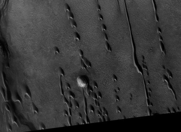 segredo sobre vida alienígena em Marte