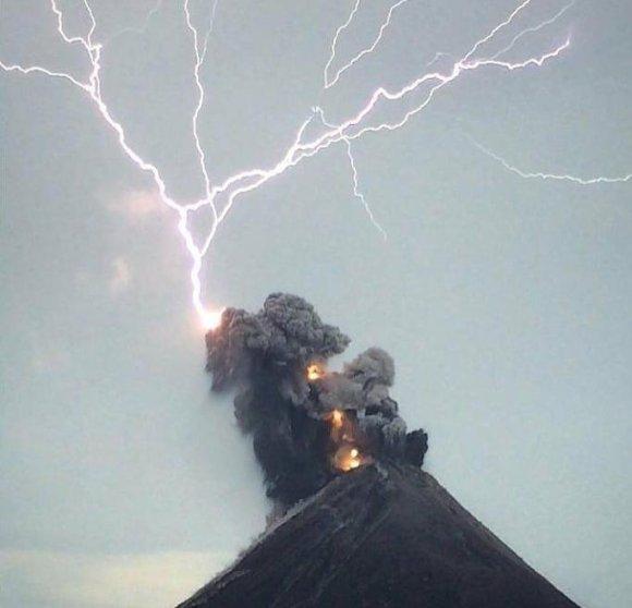 Atividade vulcânica ao redor do mundo nos últimos dias 5