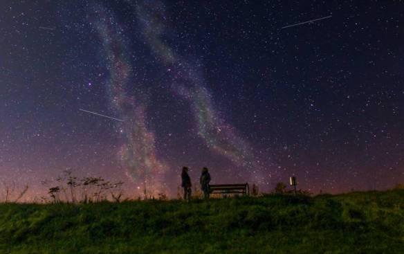 Estrelas cadentes sob demanda