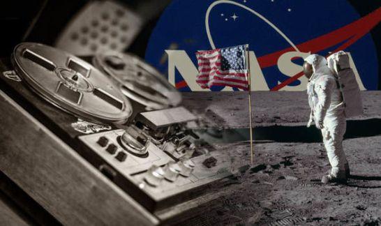 Gravações da viagem à Lua são descobertas depois de 49 anos