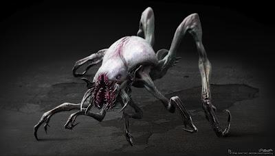 um animal deixado pelos alienígenas