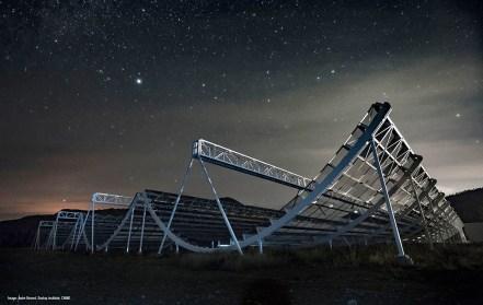 rádiotelescópio no Canadá também capta sinais misteriosos
