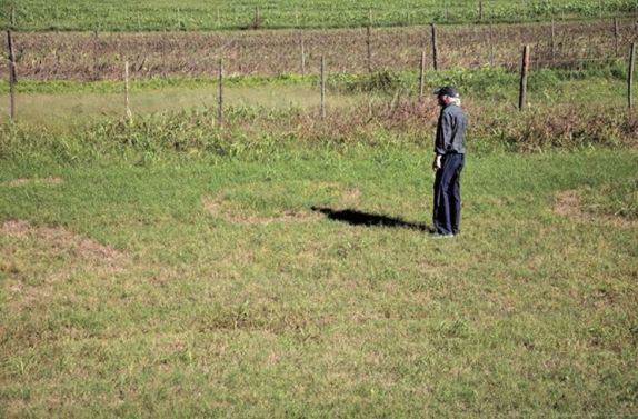 Vigia filma OVNI e ET em pasto na Argentina 1