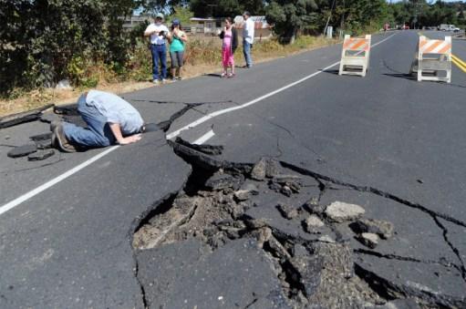 144 grandes terremotos em uma única semana de agosto