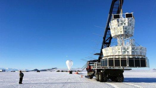 Antártica: Cientistas detectam partícula misteriosa sendo enviada para o espaço 1
