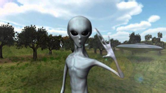 Os alienígenas pousaram e se revelaram para todos