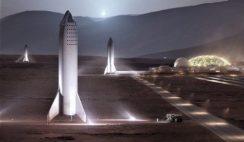 Elon Musk revela imagens da Basa Alfa de Marte