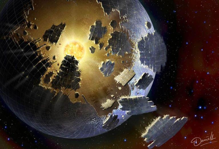 NASA dá início à procura por assinaturas tecnológicas de alienígenas Esfera-dyson
